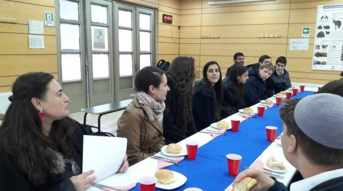 Rab Shlomo Amar Visitó Maimonides School