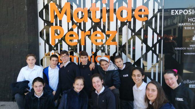 """Exposición De """"Matilde Pérez-lumínica"""""""