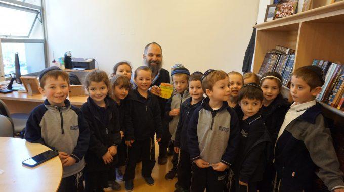 ¡Rosh Hashaná En Preschool!
