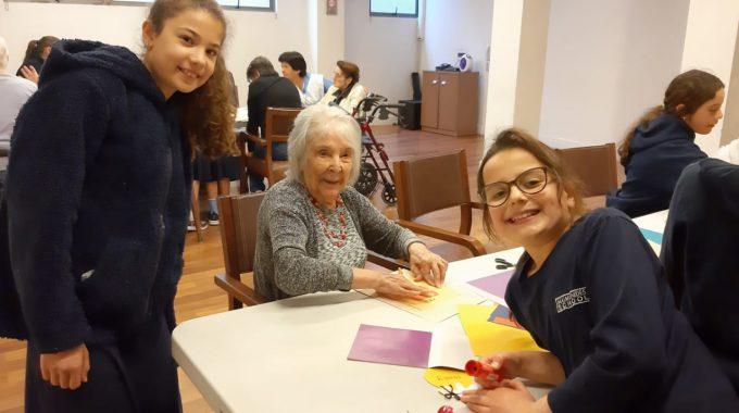¡Cartisei Brajá Con Las Abuelitas Del Hogar Beit Israel!