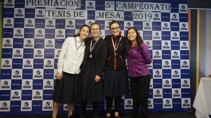 5° Campeonato De Tenis De Mesa