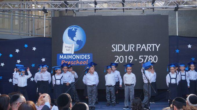 ¡Un éxito Nuestro Sidur Party!